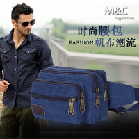 2014 New Fashion Purse Canvas Bag Purses Men Casual Outdoor Pockets Clutch Purses 5 colors Free Shipping YB-007