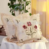 almofadas para sofa pillows decorate home sofa high-end decorative pillows embroidered cover cushion 2pices/lot free shopping