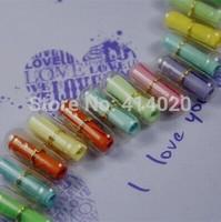 WholeSale  Lots of 1000pcs! Multiple Colors Transparent Korea Drama A Millionaire's First Love Pills/capsule, Message Pills
