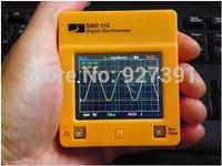 Free shipping DSO112 touch screen oscilloscope, pocket oscilloscope, micro mini  handheld digital ScopeMeter