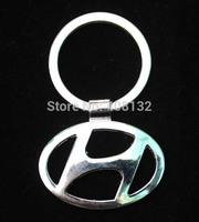 free shipping 200 pcs/lot Fashion Car Logos Titanium Key Chain Creative Gift Car Keychains Ring Keyfob