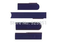 2set/lot, total 8pcs,OEM  Audio Jack+ Micro SD +USB cover +Sim Card Slot Port Cover For Xperia Z L36H ,hk free shipping
