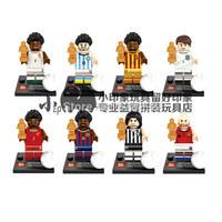 Via EMS/UPS/ - High Quality Mini Figures 8pcs/lot No box Building Blocks toys birthday gift Fast Free Ship
