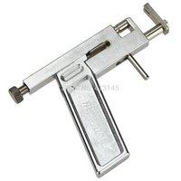 Steel Ear Eyes Lips Nose Body Ring Piercing Gun with  Studs Machine Kit Set Metal Pierce Tool