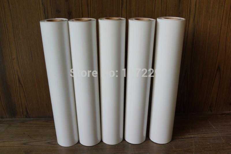 50cm*20m one roll white color Clothing PU matte Heat Transfer Vinyl.high quality heat transfer film Cutting Plotter Film,(China (Mainland))