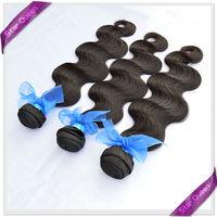 Unprocessed Rosa Hair Products 6A Peruvian virgin hair body wave Human Hair Weave 3pcs lot Natural Color Peruvian hair extension