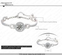 Romantic Paris famous fashion designer jewelry design Cubic Zirconia Bracelets 0001