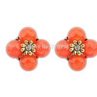 New arrival fashion women earrings bohemia vintage sweet summer all-match flower stud earring Europe and America popular jewelry