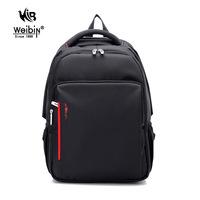 WEIBIN 0116 Waterproof Nylon Computer BackpackMen Casual Bussiness HandbagWomen Travel Messenger Bags New School Student Bag