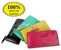 Designer women wallets high quality 100% genuine leather ladies purses fashion evening bag trendy card bag envelope bag 5 colors