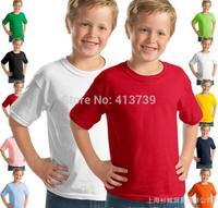 GILDAN 76000 b, children teenagers Round collar Pure cotton With short sleeves T-shirt Render unlined upper garment
