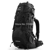 Outdoor climbing package 65L large capacity bag shoulder bag waterproof hiking