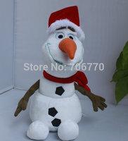 IN HAND!!LOTS RETAIL CARTOON Princess Elsa Anna  FRIENDS OLAF SNOWMAN Christmas  9INCHES 24CM STUFFED DOLL TOY MOVIE  FREE SHIP