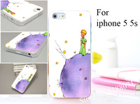 The Little Prince Hard Transaprent Case Cover for iphone 5 5s 5g 5th 10PCS/lot
