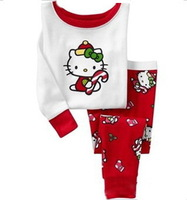 Wholesale Baby Pure Cotton long sleeve Suits,Children pajamas,Clothing Sets, 6pcs/lot