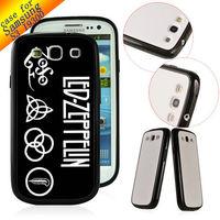 TPU+ PC Customized hard back cover Designer Case Skin for Samsung Galaxy S3 SIII I9300 LED ZEPPELIN ZC0047 Free ship