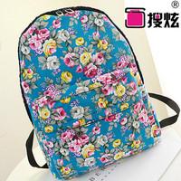 2014 Brand super adorable cartoon shoulder bag Korean version classic shoulder bags School wind canvas shoulder bag