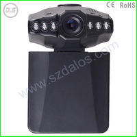 Free shipping 2.5inch TFT LCD night vision car DVR F198 with motion detection