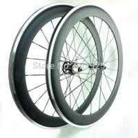 U Shape 25mm Wide Carbon Alloy Wheels 60mm 700C Clincher Carbon Wheels Aluminum Brake Track Novatec Hubs 291/482 Pillar Spokes