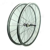 Super light 1410g Carbon Wheels 24mm With Aluminum Braking Surface 700C Clincher Wheels Road Bike 3K Matt Novatec 291-SL/482-SL