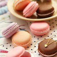 3pcs/set Cute Candy Color Macaron Mini Storage Box Jewelry Box