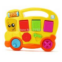 Multifunction Baby Fancy Toys Cheerful School Bus