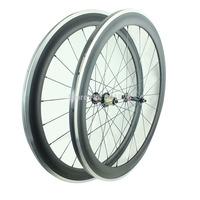 700c Carbon Wheelset 50mm Road Bike Wheels With Alloy Braking Surface UD Matt Novatec Hubs 291-SL/482-SL CN Aero Spokes