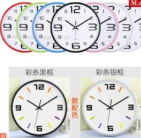 M35 12inch study living room perfect quality clocks of quartz wall clock quiet mute sweet movement good looking desin