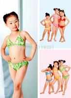 NWT Wholesale 1set 2014 Genuine Kids Swimwear Children's Bathers Baby Baby Swimwears Child Swimming Girl Swimwear Girls Children