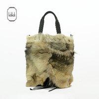 2014kilikili women's handbag fur women's handbag Women fashion