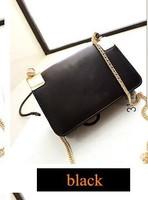 new 2014 famous brand designer women messenger bags YS leather handbag girl metal chain bag purse woman wallets desigual bolsas