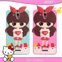 Free shopping for lenovo S898t mobile phone case for lenovo S898t protective case cell phone case silica gel set