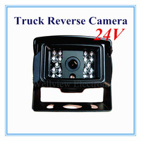 IR Rear View Mirror Sony CCD Waterproof Truck Reverse Camera 24V