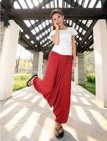 1pcs/lot Free Shipping,2014 Fashion Bohemian Style Hip Hop Yoga Loose Harem Pants Sports Trousers Baggy Pants Women Ladies Solid
