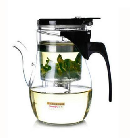 Freeshipping samaDOYO teapot B-06 600ml tea set,glass Tea Cups Best tea kettle(China (Mainland))