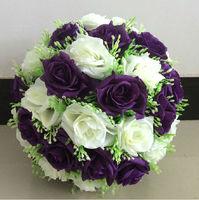 25cm Starry rose flower balls artificial flower decorations wedding market decorative flowers AH5202
