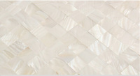 11sq. ft/lot Mother Of Pearl Tile Backsplash Tiles Freshwater White Shell Mosaic Wall Tiles 20*20mm Seamless Closely spliced