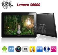 Lenovo S6000 4G WIFI MTK8125 Quad Core 10.1 Inch 1280x800 pixels 1GB RAM+4GB ROM Android 4.1 Tablet PC Bluetooth/OTG