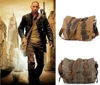 Messenger Bag Men's Vintage Canvas School Military Shoulder Bag Retro Style Tactical Bag