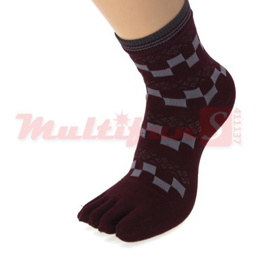 Toe Socks 6 pairs crossed business lady Woman Healthy Socks Assorted Colors Cotton socks calcetines meias pantufa harajuku soks(China (Mainland))