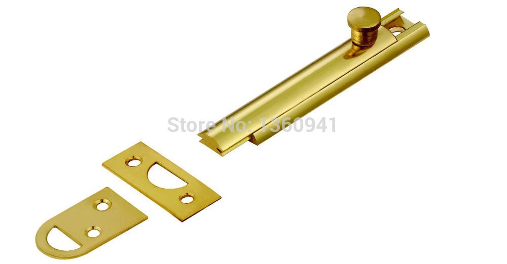 FLUSH BOLT SLIDE DOOR BOLT SOLID BRASS DB008(China (Mainland))