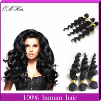 "Queen Hair Products Malaysian Virgin Hair Unprocessed Malaysian Loose Wave 5pcs/lot Mixed12""-24"" Cheap Human Hair Free Shipping"