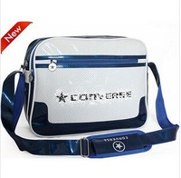 Free Shipping 2014 classic fashion sports bag patent leather bag schoolbag