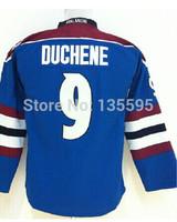 #9 Matt Duchene Youth(kids) Blue 2014 New Embroidery and Sewing logos Ice Hockey Jerseys Cheap Sale wholesale