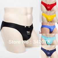 2014 Quick Dry Running Sexy Panties Better Quality Male Thong Cotton Shorts Men Sweat jockstrap Underwear MU1009B 4pcs/lot