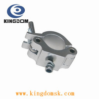 Low price hi-quality Aluminium stage light Clamps Hook for led light and moving light,Max load:500KG,48-52mm pipe