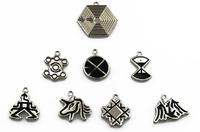 EXO mark key chain bracelet  necklace Alloy hooks  Elegant personality pendant Free shipping