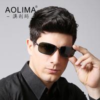 Authentic new men sunglasses male tide polarizer sunglasses men sunglasses driver driving glasses lens