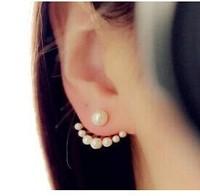 E165 big stud earrings  pearl earrings pretty nifty stud earrings (MIN order $10 mixed order)
