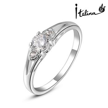 Italina Rigant новое поступление обручальное кольцо сделано с австрийских кристаллов ...
